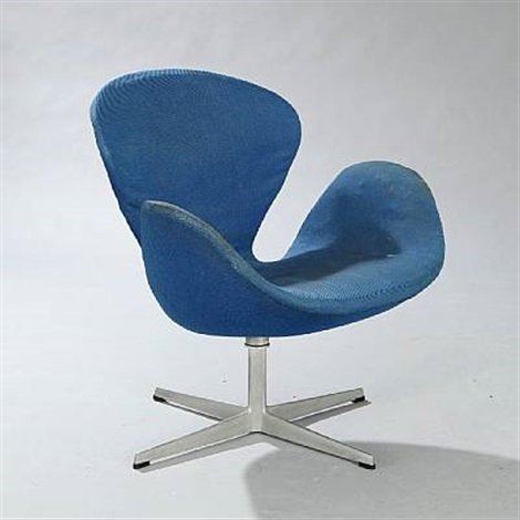 the swan easy chair model 3320 by arne jacobsen