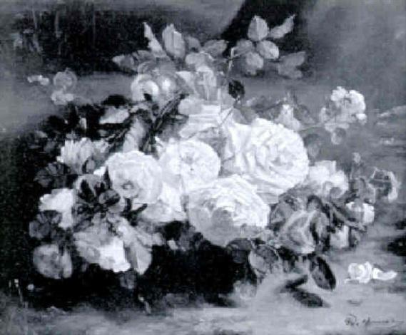 rosenstilleben by w honner