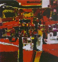 abstract composition by henry avery