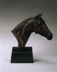 horse's head by doris lindner