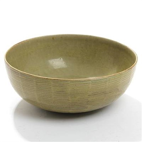 fluted royal copenhagen bowl by axel johann salto