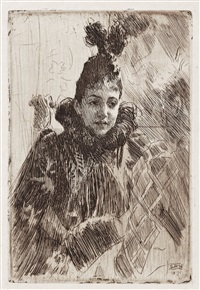 madame salomon by anders zorn