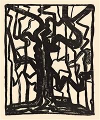 compositie (boom) by jacoba van heemskerck