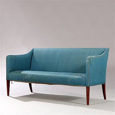 Two Seater Sofa By Frits Henningsen