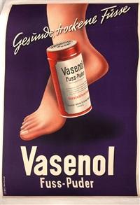 vasenol fuss-puder by herbert bayer