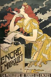 encre l. marquet by eugène grasset