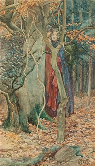 the secret by eleanor fortescue-brickdale