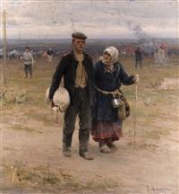 rückkehr nach hause by abram efimovich arkhipov