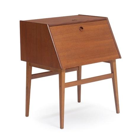A Teak And Beech Silverware Cabinet By Bertel Gardberg