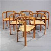 haugesen armchair (set of 6) by gunvor and niels jorgen haugesen