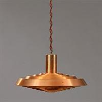 langelinie/ph-plate ceiling lamp by poul henningsen