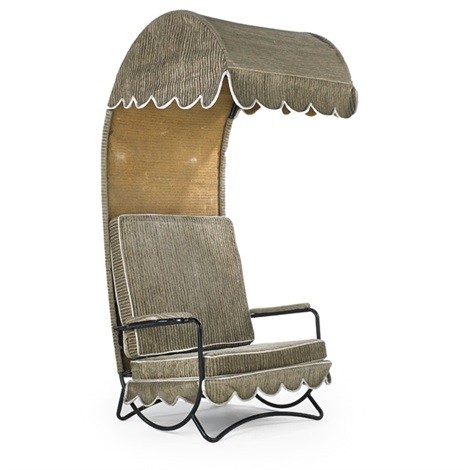 canopy lounge chair by jean royère
