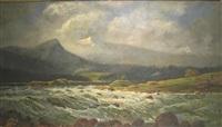 western landscape of colorado river by w. livingston anderson