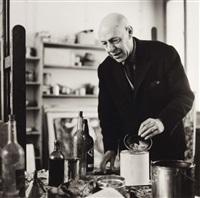 jean dubuffet dans son atelier by pablo volta