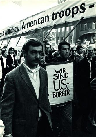 demonstr us campaign by michael ruetz