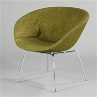 the pot chair (model 3318) by arne jacobsen