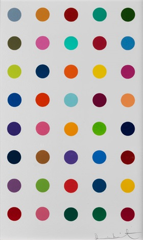 ribonolactone by damien hirst