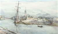 port medoc by c(harles) w(illiam) adderton