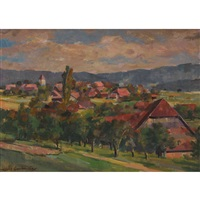 emmentaler landschaft by hans gartmeier