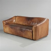 a three-seater sofa by de sede