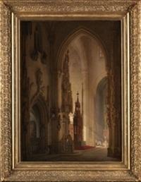 interior de catedral by françois antoine bossuet