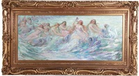sirens of the sea by frederick stuart church