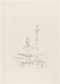 dans latelier aus: paroles peintes by alberto giacometti