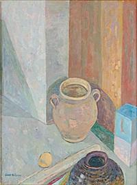stillben med krukor by axel nilsson