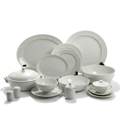 salto dinner set set of 44 by axel johann salto
