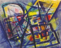 abstract composition by robert jay wolff