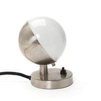 cromed/opal glass wall lamp (model nr. 10630) by vilhelm lauritzen