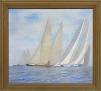 sailboat racing by william t. aldrich