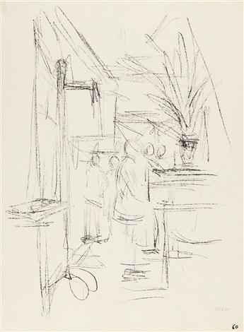 Recto Bl. 59 - verso Bl. 60 aus Paris sans fin by Alberto Giacometti ...