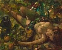 joven desnuda by josep lloveras