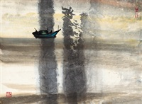 行舟 (boating) by shiy de-jinn