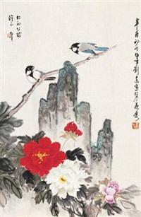 花鸟 by liu bonian