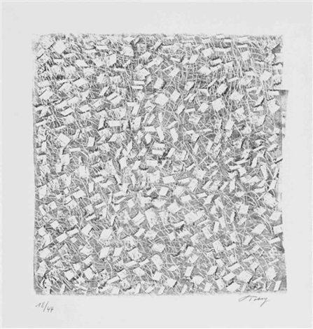 untitled (5 works), head and composition (7 works) by mark tobey