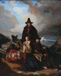 sosta di viandanti by julius storms