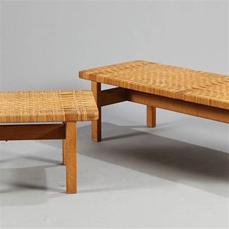 Long and short coffee table pair model 5272 and 5273 by Brge