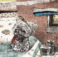 少数民族风情 by ren huizhong
