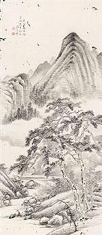 山水图 by wen qiqiu