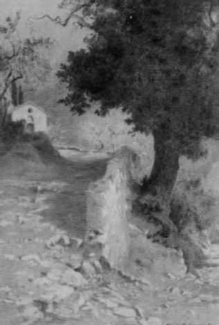 weg nach den benediktiner klöstern santa scolastica und sacro speco by othmar brioschi