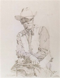 cowboy resting by jim smith