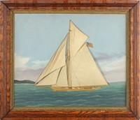schooner yacht by thomas h. willis