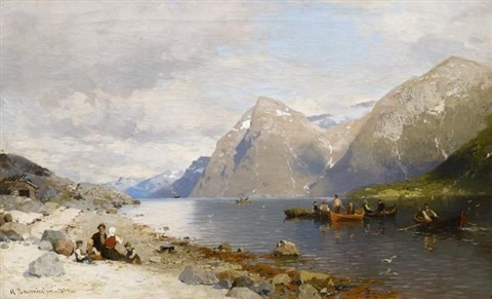 im fjord by georg anton rasmussen