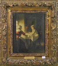 femmes à la fenêtre by joseph bail