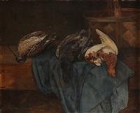 stilleben med jaktbytte by karl kristian uchermann