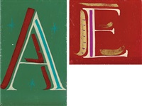 a (+ e, irgr; 2 works) by bob and roberta smith