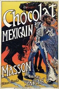 chocolat mexicain masson paris by eugène grasset