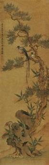 祝寿图 by jiang tingxi